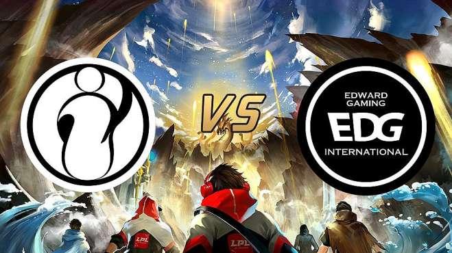 英雄联盟:EDG输给IG,只因这三点没来得及做出反应!