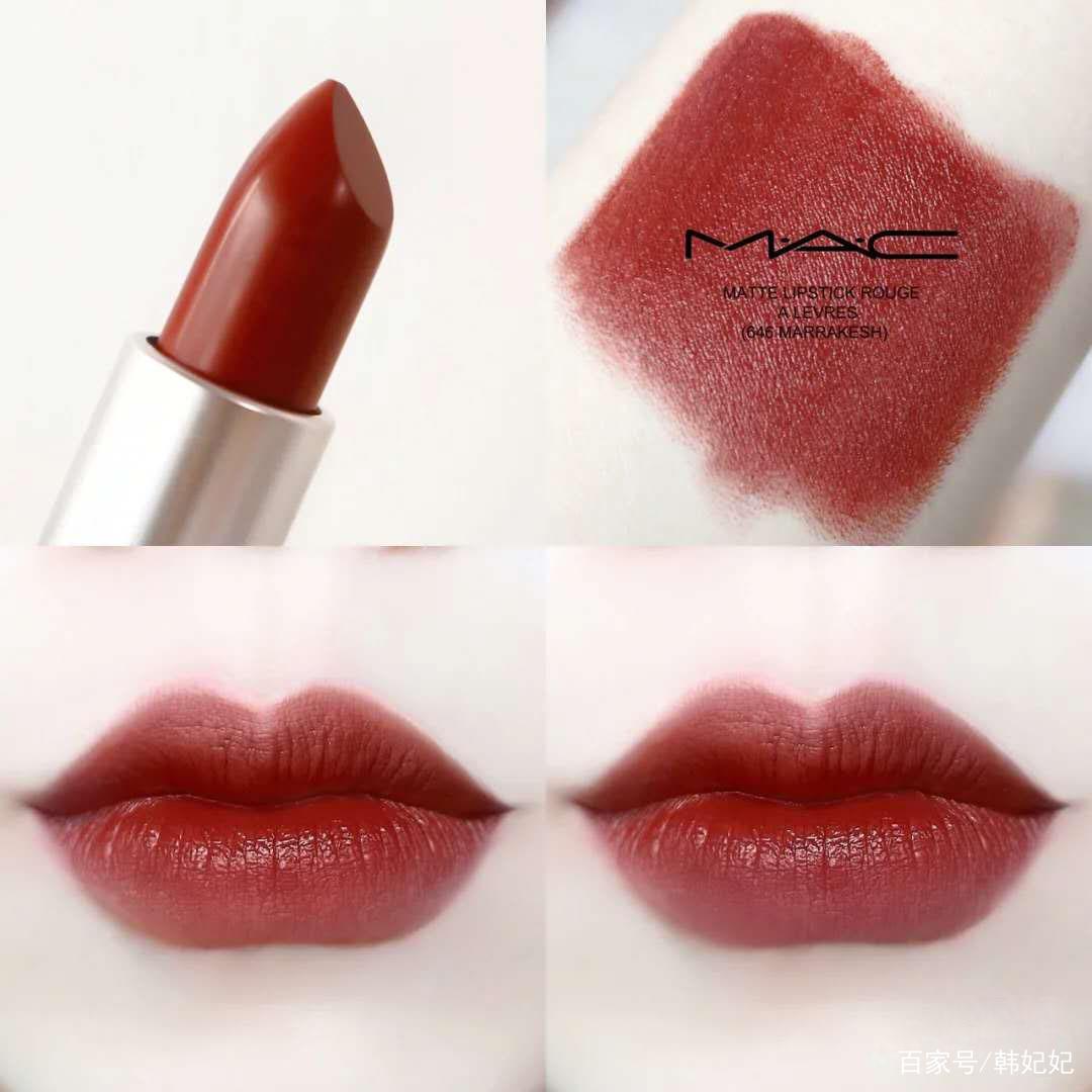 Mac最火的8支经典色号,口红女孩都想拥有!