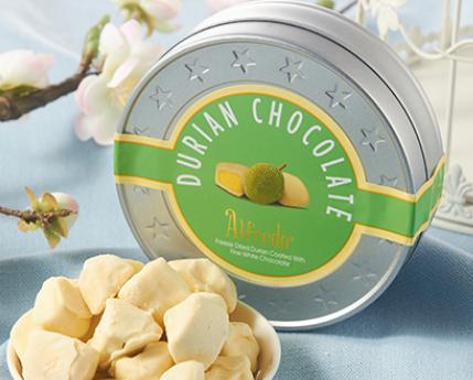 榴莲和巧克力是搭档,做成美味的巧克力吃,有没有惊艳到你?