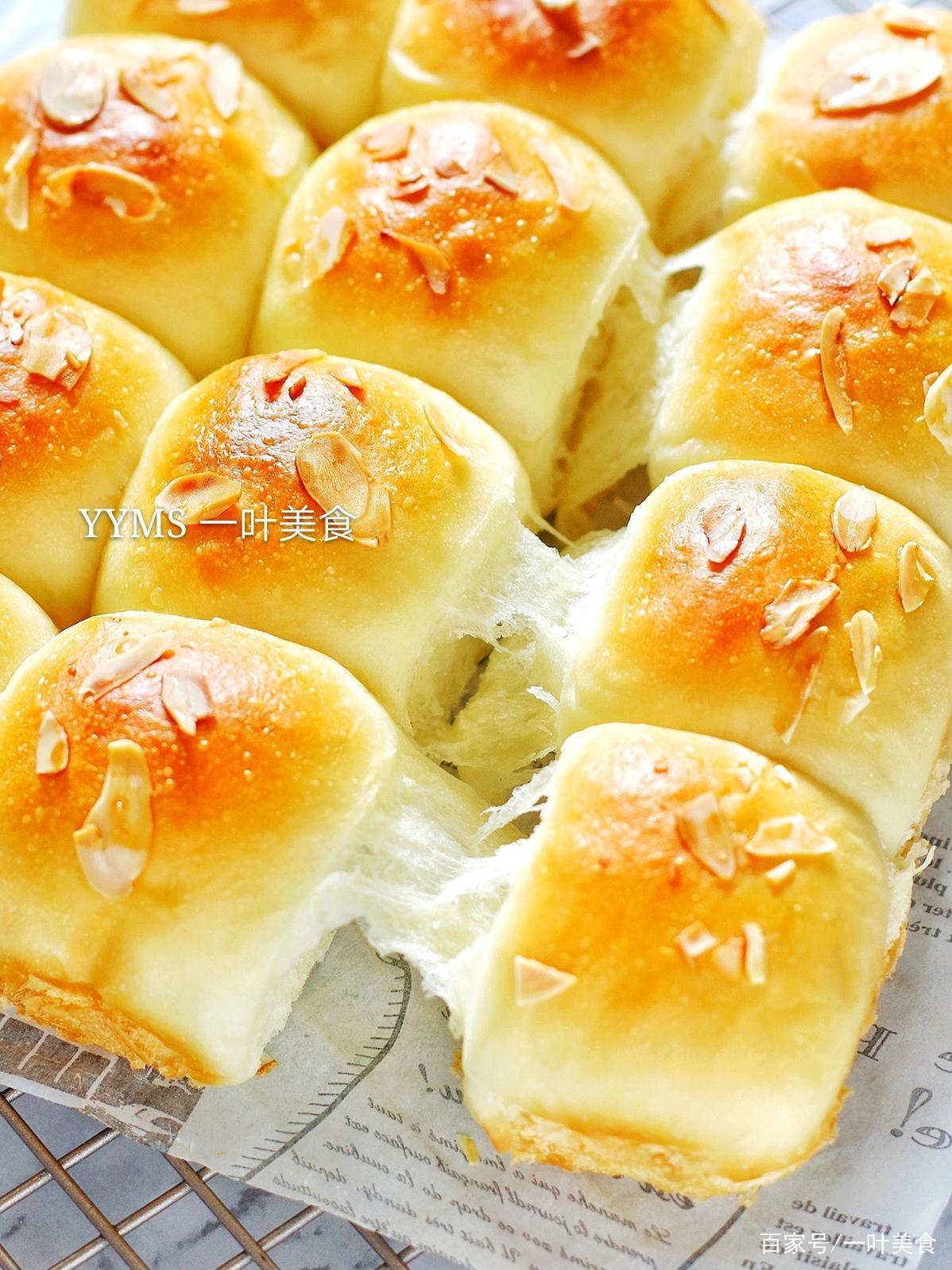 酸奶做面包,又软又香还拉丝,超详细手把手教你,一次就成功