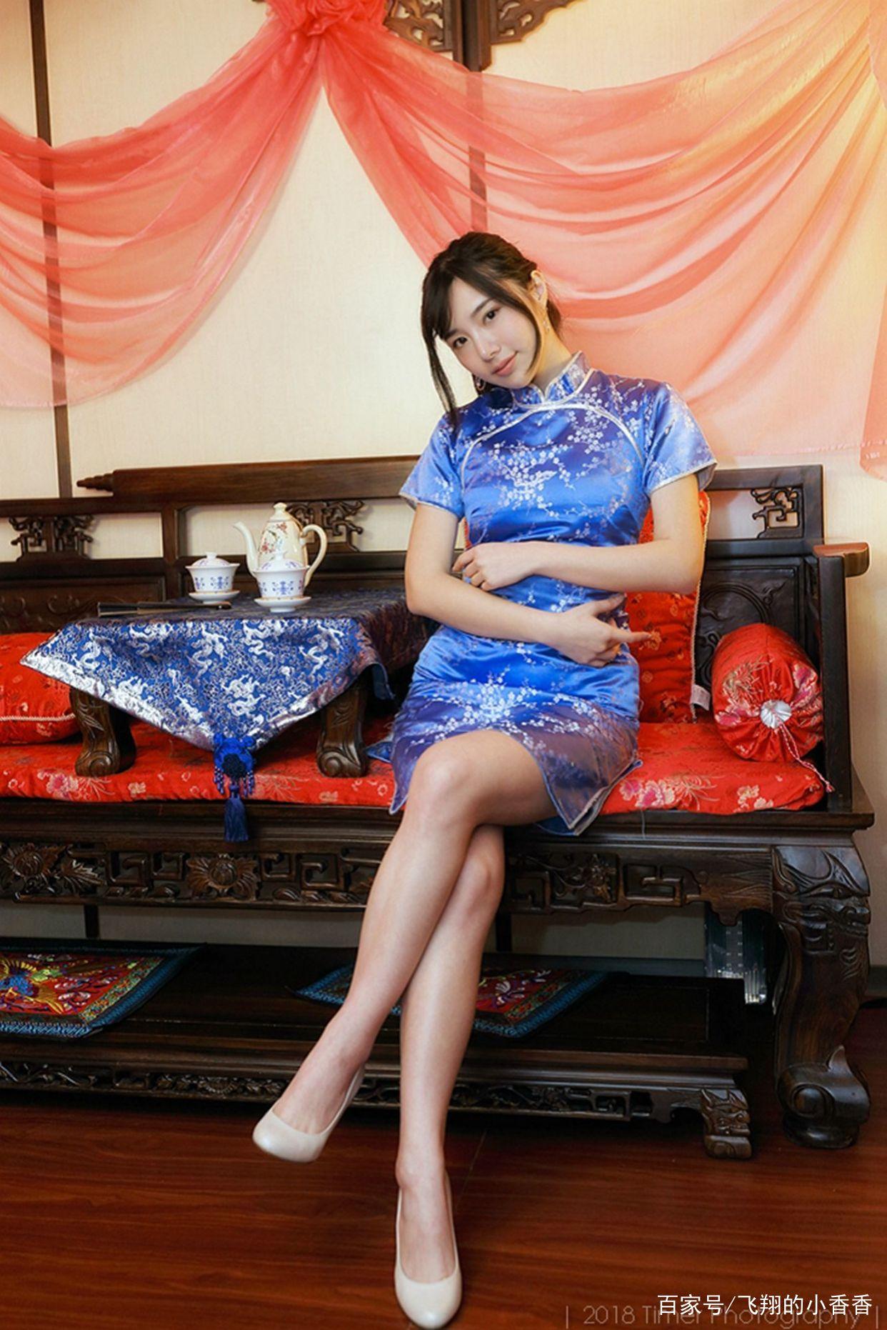 这么美的旗袍美女是来自台湾的漂亮妹妹Zora 是你们喜欢的样子吗