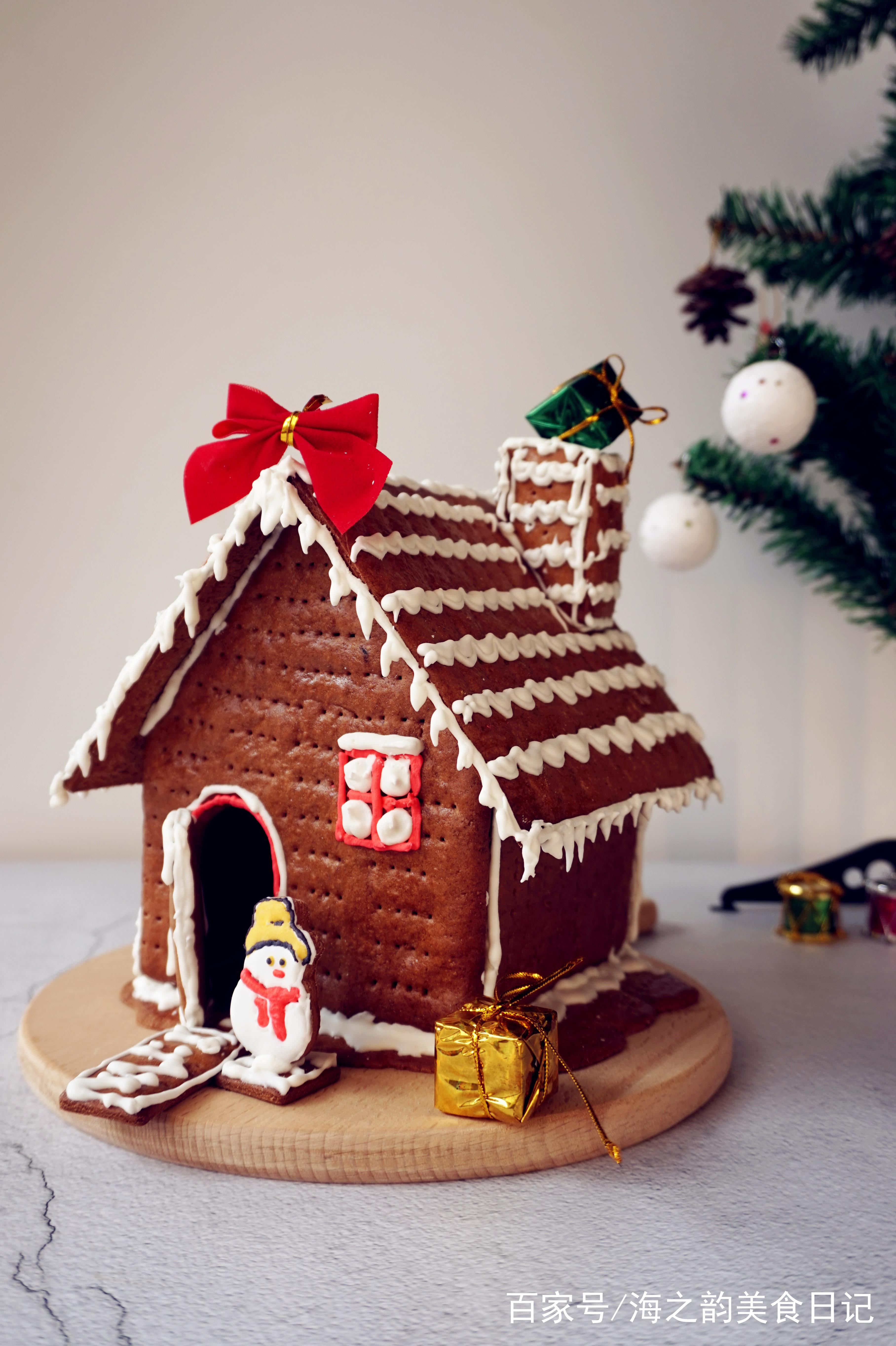详细步骤教你做出童话般的圣诞姜饼屋,一次就成功!