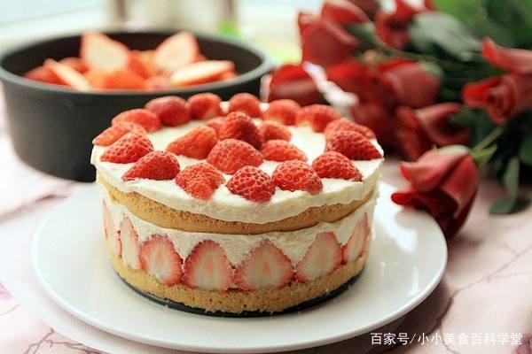 水果巧克力盒子蛋糕