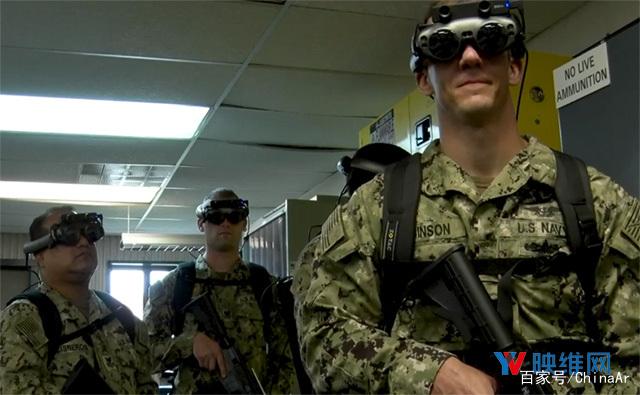 美国海军用Magic Leap AR系统模拟反恐战场训练
