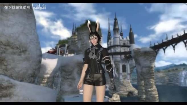 「FF14」更新兔娘啦!兔娘真好看!兔娘模特衣服展示参考