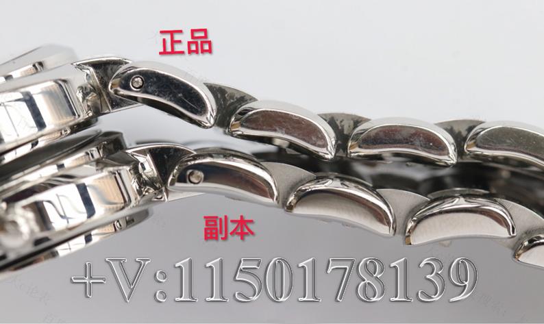 原装机芯!GS厂浪琴心月L8.112.4.87.6真假对比测评