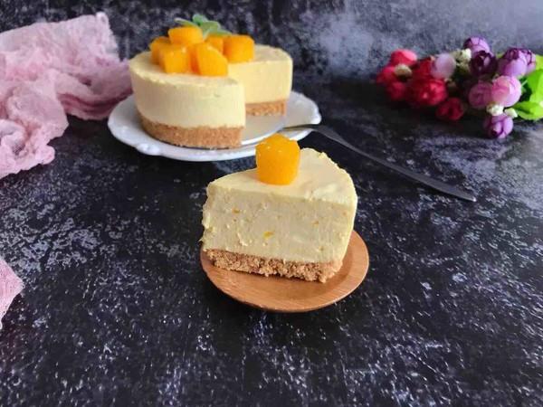 原来制作网红蛋糕这么简单,芒果慕斯蛋糕,香甜爽口,吃着过瘾