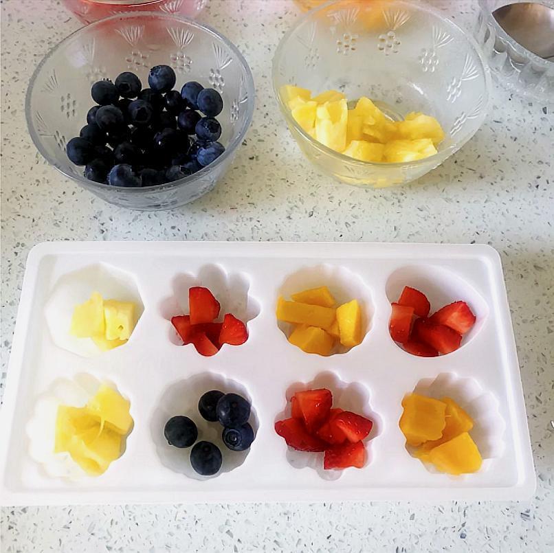 自制水果果冻,比外面买的健康多了,Q弹美味,新手妈妈都能做!