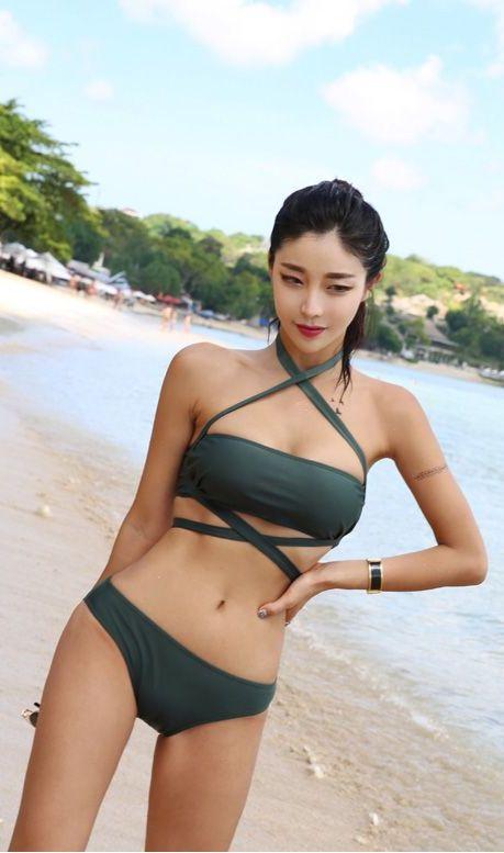 韩国八大泳装模特比基尼美图乐多美女网整理第14期