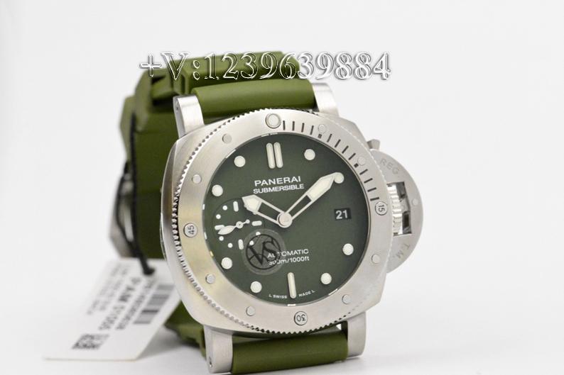 对比:VS厂沛纳海1055绿鬼王42mm,值不值得入手?插图5