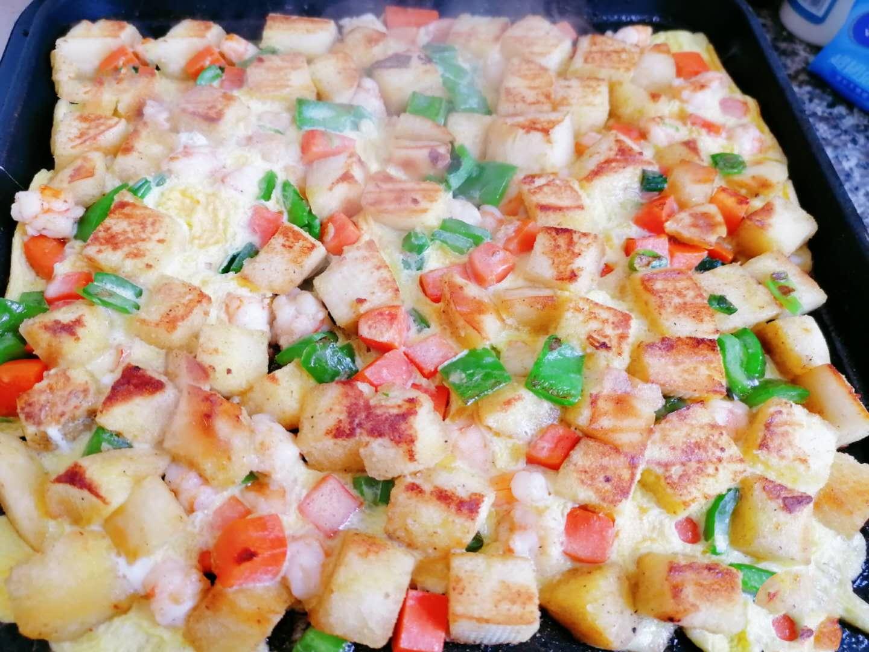 电饼铛馒头版披萨的做法,外酥里嫩,内容丰富,孩子超爱吃