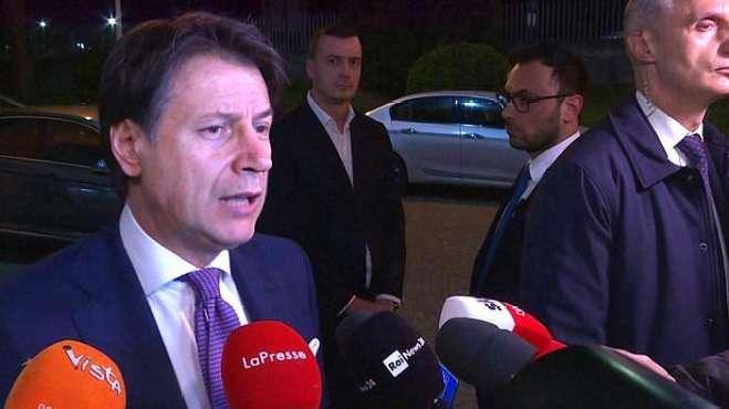 意大利总理孔特呼吁冷静应对疫情 反对关闭边境提议