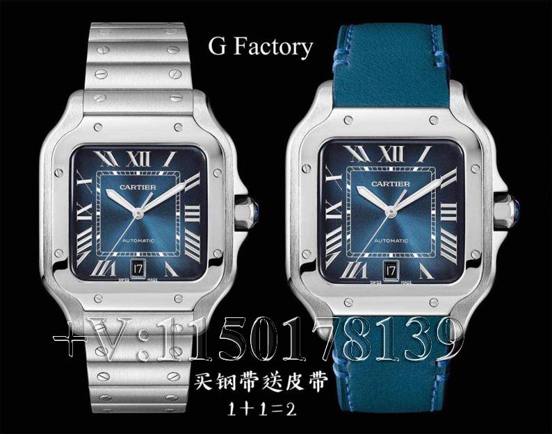 测评:GF厂卡地亚山度士蓝盘WSSA0013,究竟质量如何?