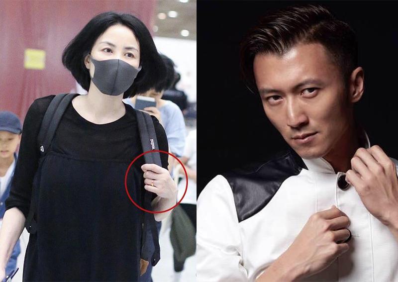 王菲无名指上戴上新戒指或与谢霆锋秘密结婚了?