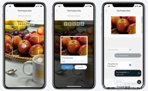 iOS版本的Rosetta Stone添加AR+AI语言学习功能 AR资讯