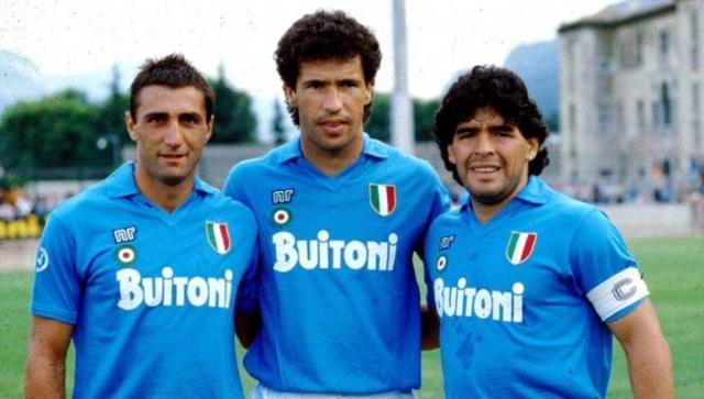 意大利那不勒斯历史最佳阵容,马拉多纳佐夫领衔,佐拉落选