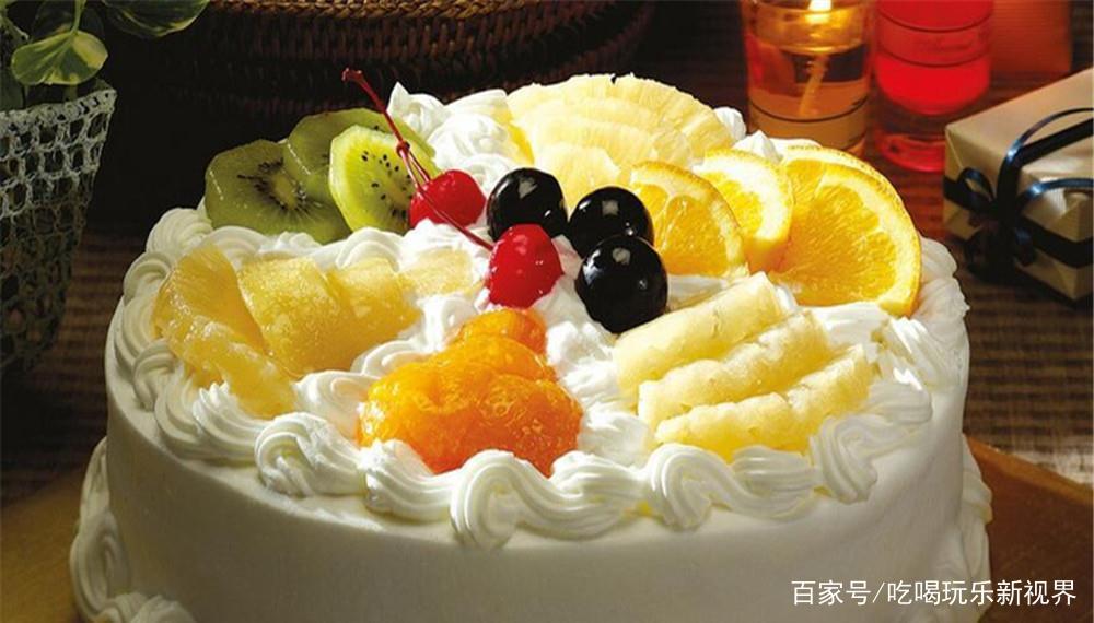 水果奶油蛋糕的制作方法,小编把手教学……
