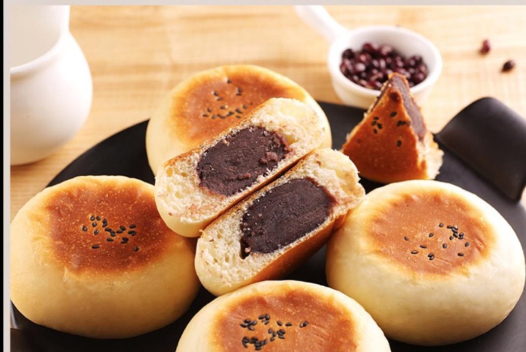 日式红豆沙小餐包,用牛奶揉面更好吃哦