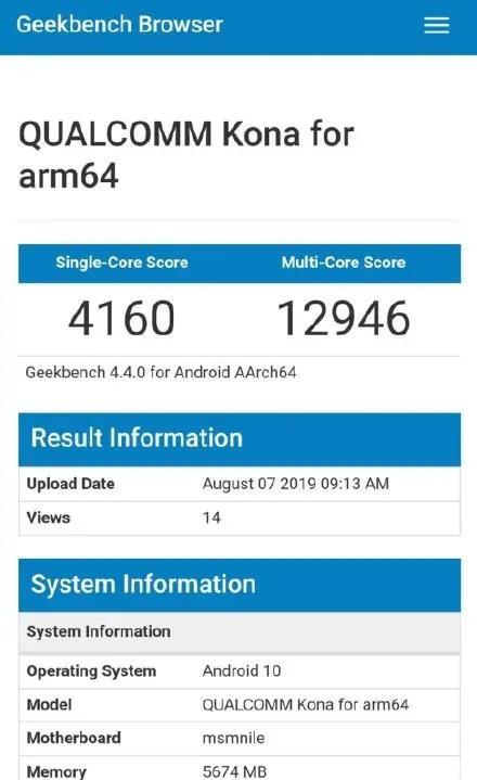 苹果A14跑分出炉,CPU主频3.1GHz,领先865和990两代
