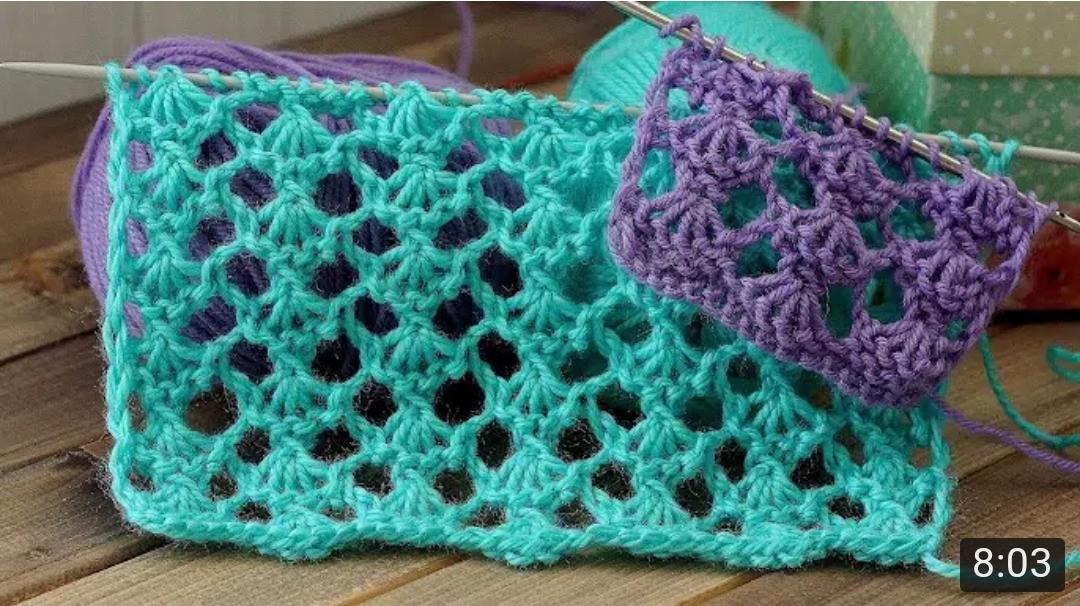 簡單又漂亮的春秋衫花樣棒針編織,學到就是賺到!