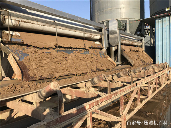 砂石厂因环保大量关停该何去何从?带式压滤机泥浆处理解决问题 3