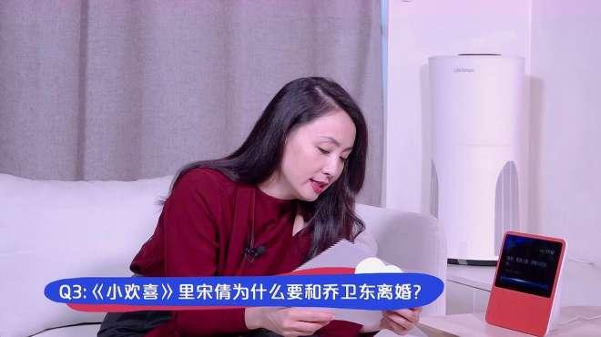 陶虹:小欢喜中宋倩和乔卫东为什么离婚呢?