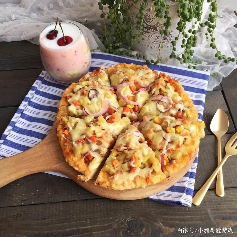 老湿的香辣金枪鱼披萨