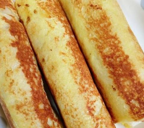 烤面包片没味道,教你一种快手懒人早餐,10分钟出锅,全家都爱吃