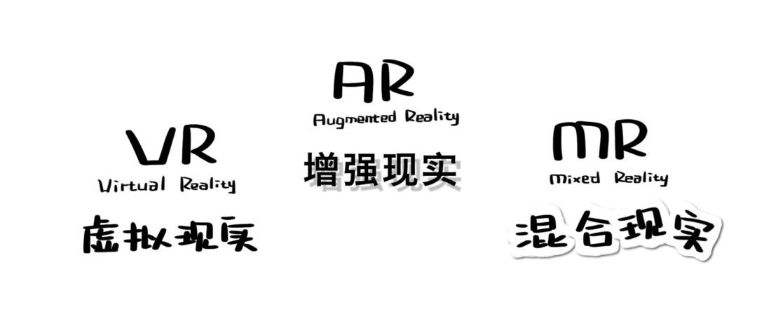 VR、AR、MR,它们都是啥?|视频科普来了