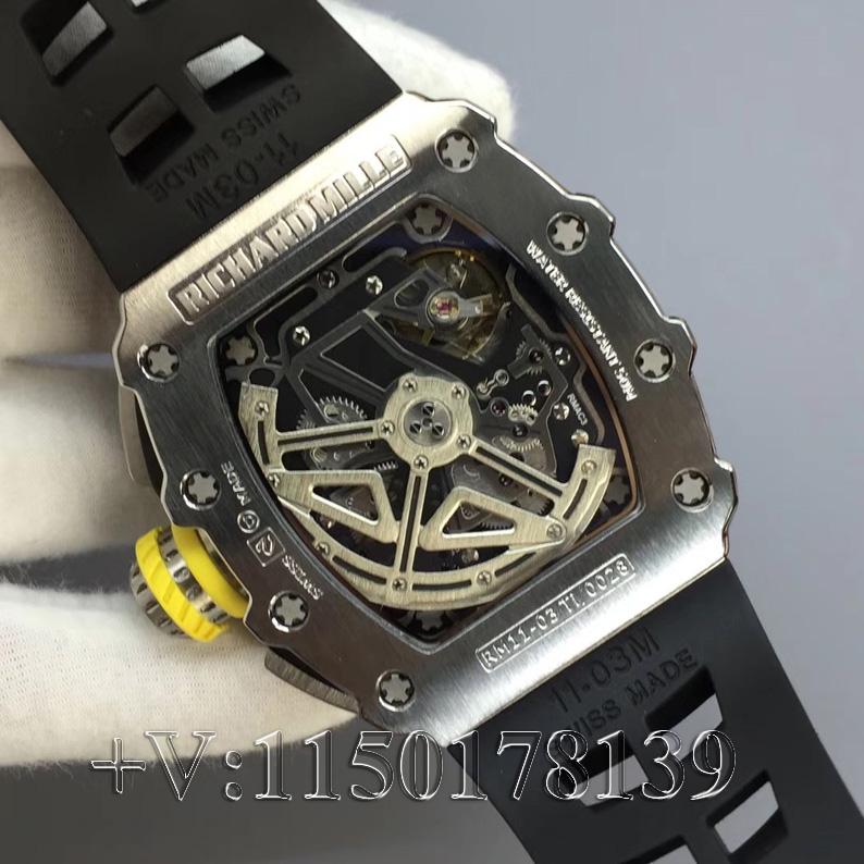原版百万?KV厂理查德米勒RM11钛合金 让你超值入手!