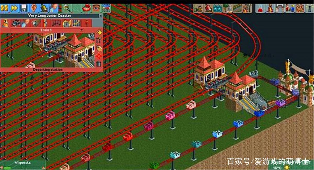 玩一次要花费上百年,《过山车大亨》玩家自制地狱轨道升级了