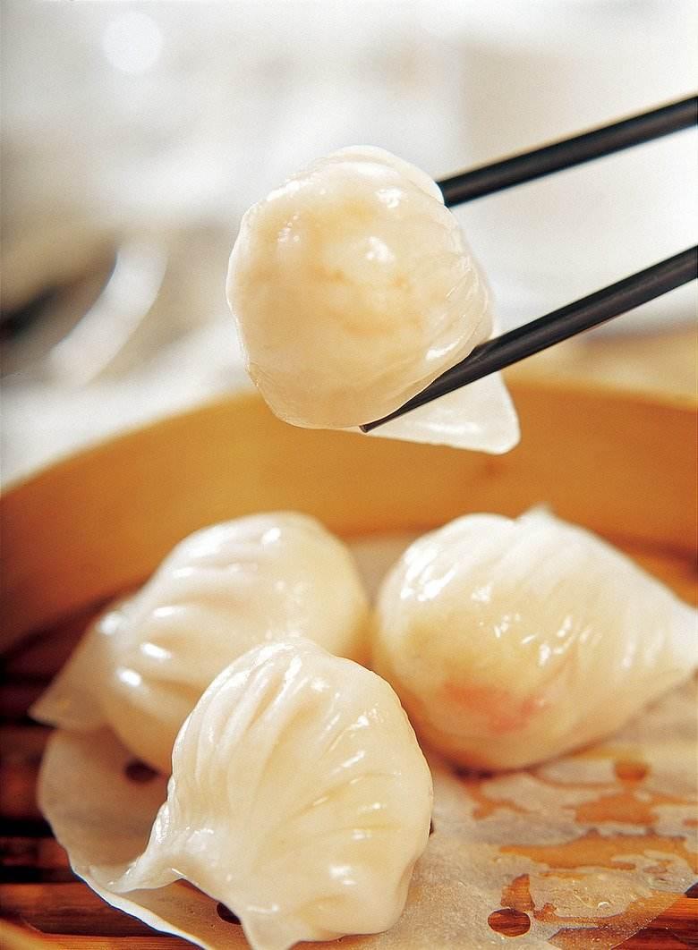 大安虾饺制作步骤