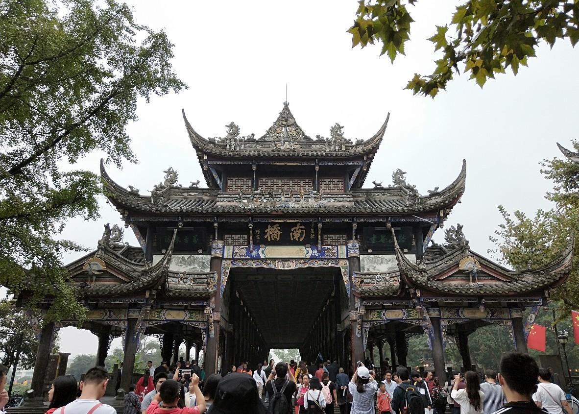 成都最受欢迎游客喜欢的景点之一,都江堰景区
