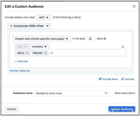 7个策略自定义Facebook用户,营销结果可能会好到让你惊讶