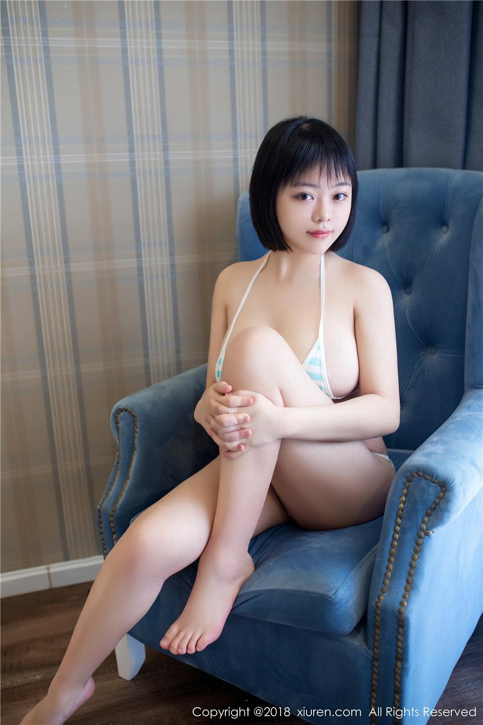 [秀人网] 极品性感白皙巨乳美女赤间菀枫高清室内照片 第81