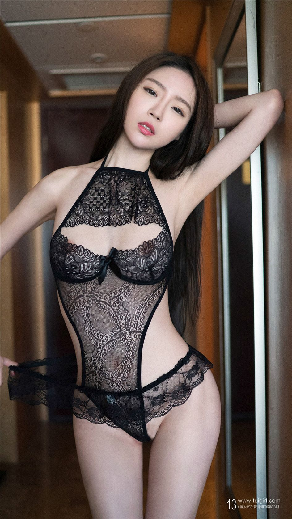 [推女郎] 性感美女林清儿美乳浴巾诱惑 第82期