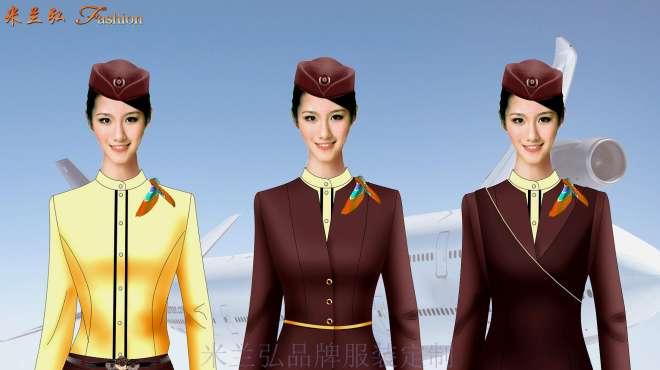 天津航空空姐服、高铁乘务服装新款式图资讯