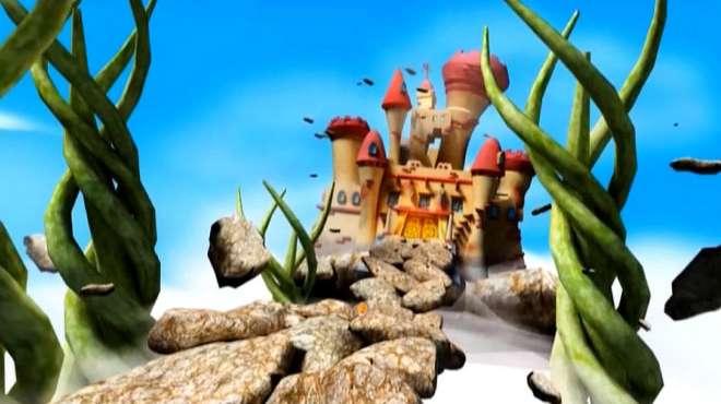 猪猪侠:菲菲来到天上,那里竟有浮空城堡,里面居住着巨人