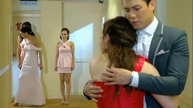 爱恨之约:灰姑娘看到总裁这一幕伤心离去