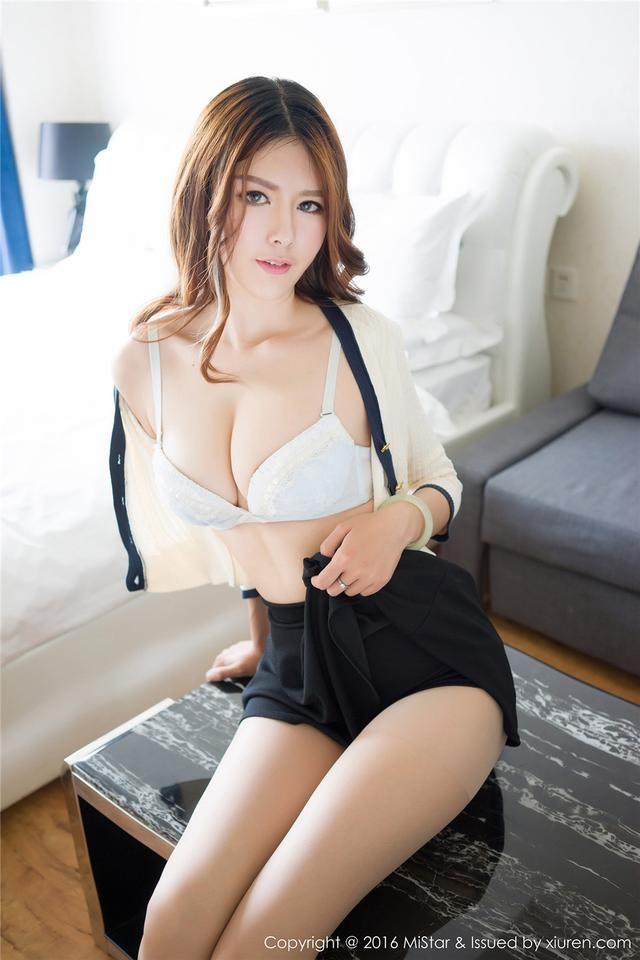 [魅妍社] 90后性感模特赵梦洁雪白浑圆美乳女神图片 VOL
