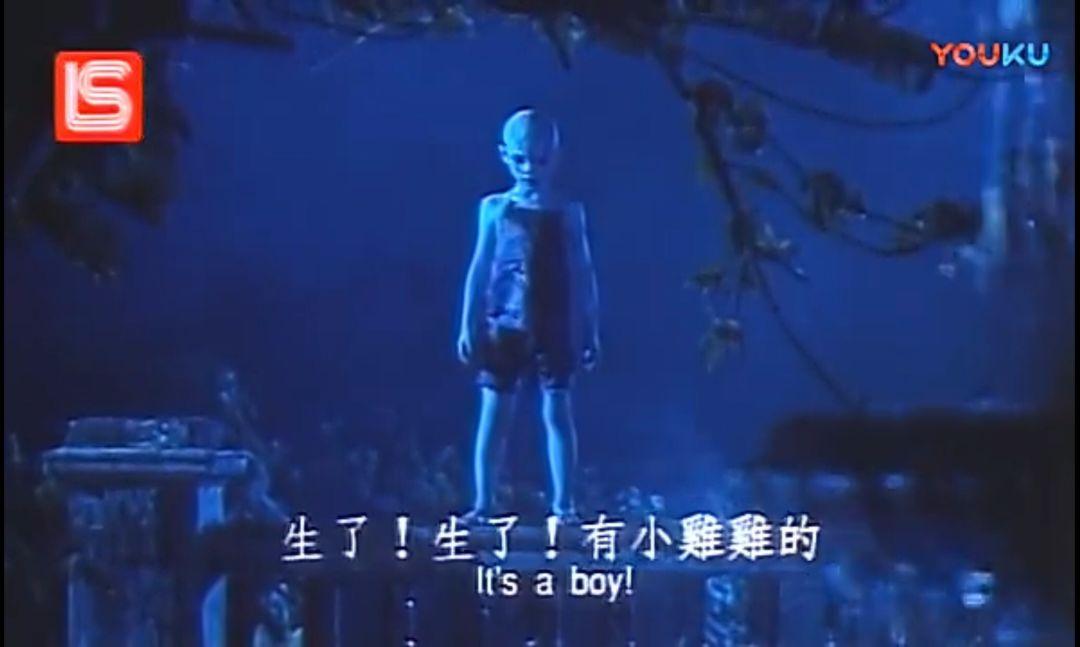 「新僵尸先生」这部电影居然有这么艺术的片段