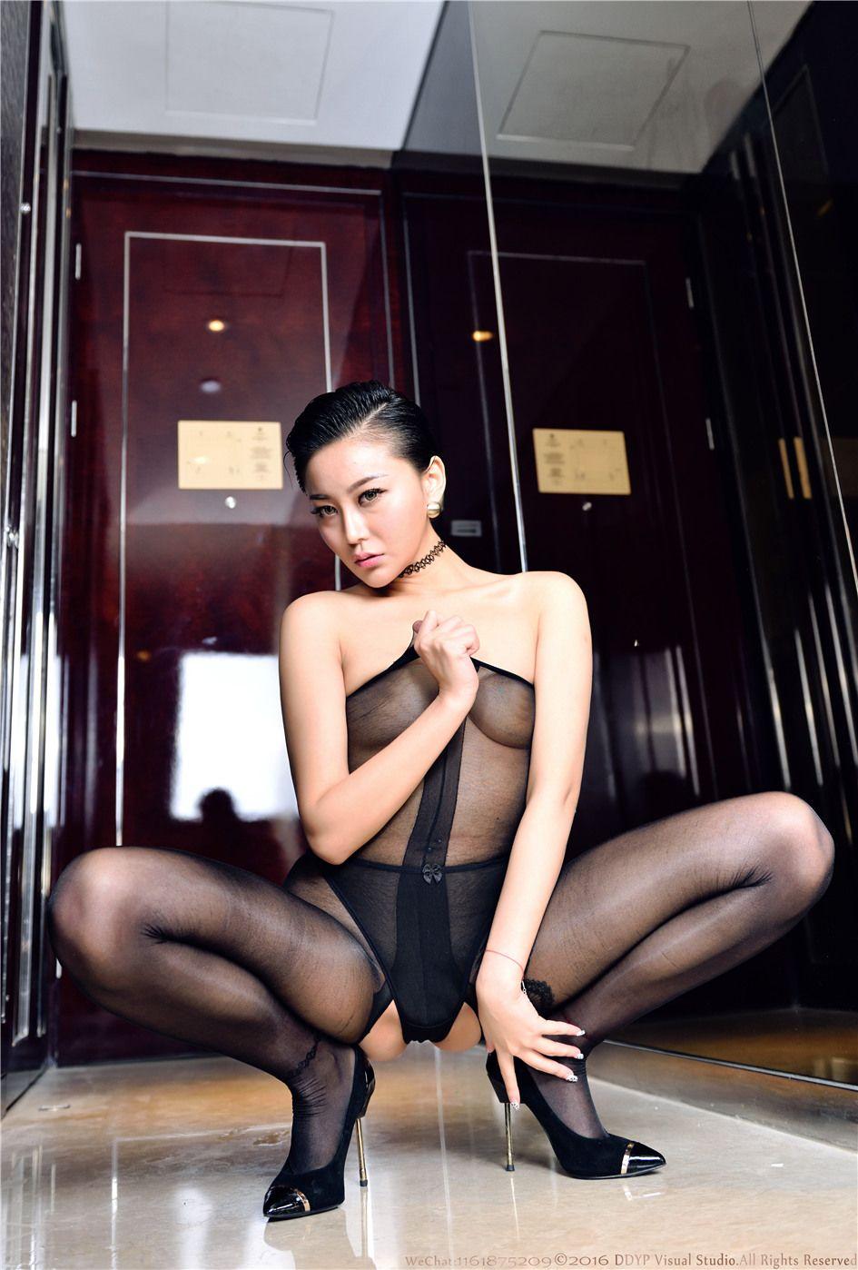 [LEGBABY] 丝袜爆乳女神若兮浴室美腿高跟  NO.0