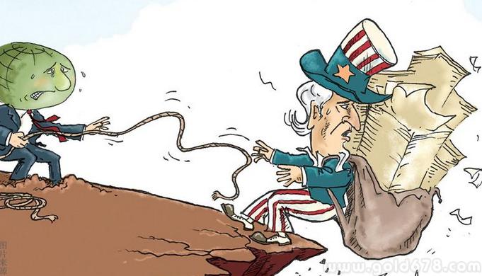 美国债务已达到21.8万亿美元,川普:不关我的事