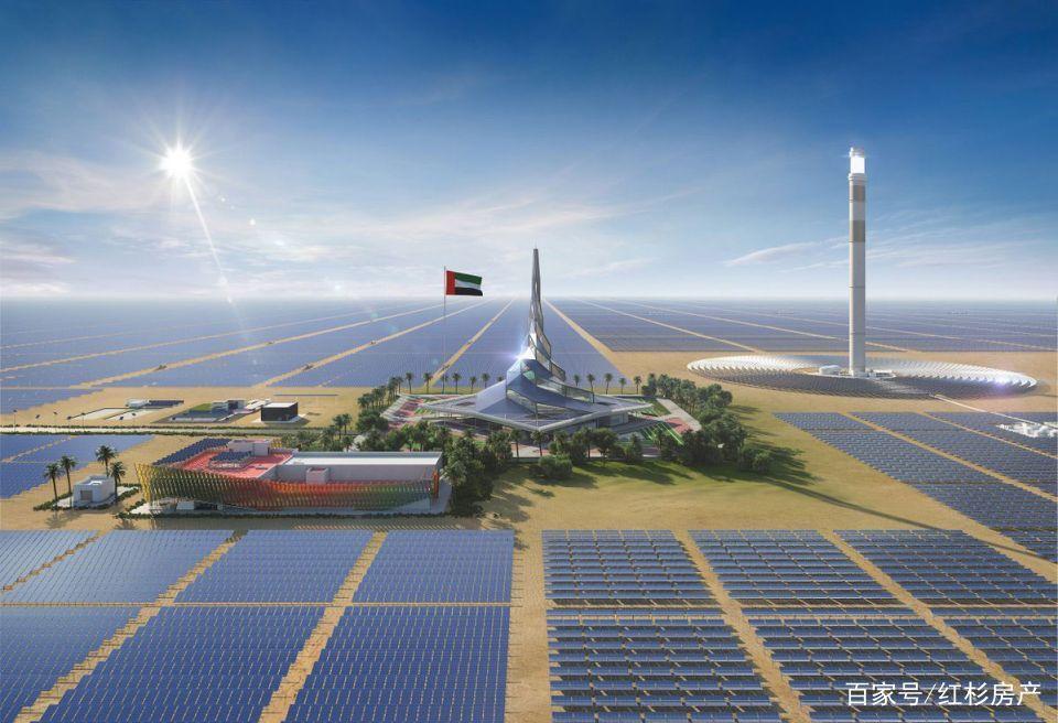 世界CSP第一高塔将在迪拜落成,丝路基金持股将近1/4