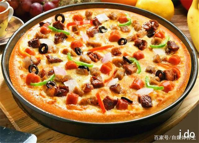 西餐牛肉披萨主食