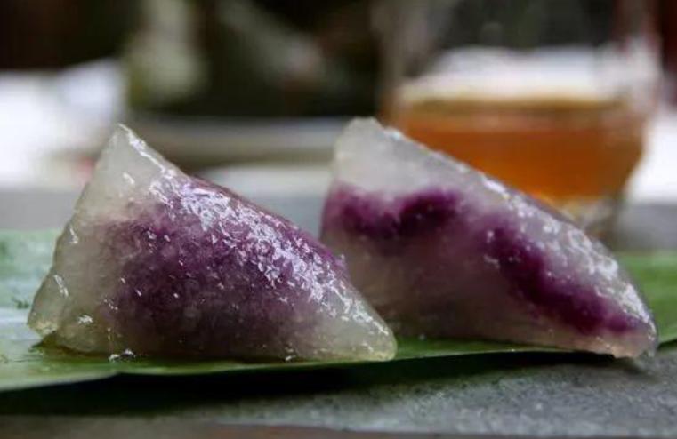 用紫薯和西米包粽子,居然比糯米粽子还好吃,简单又好煮