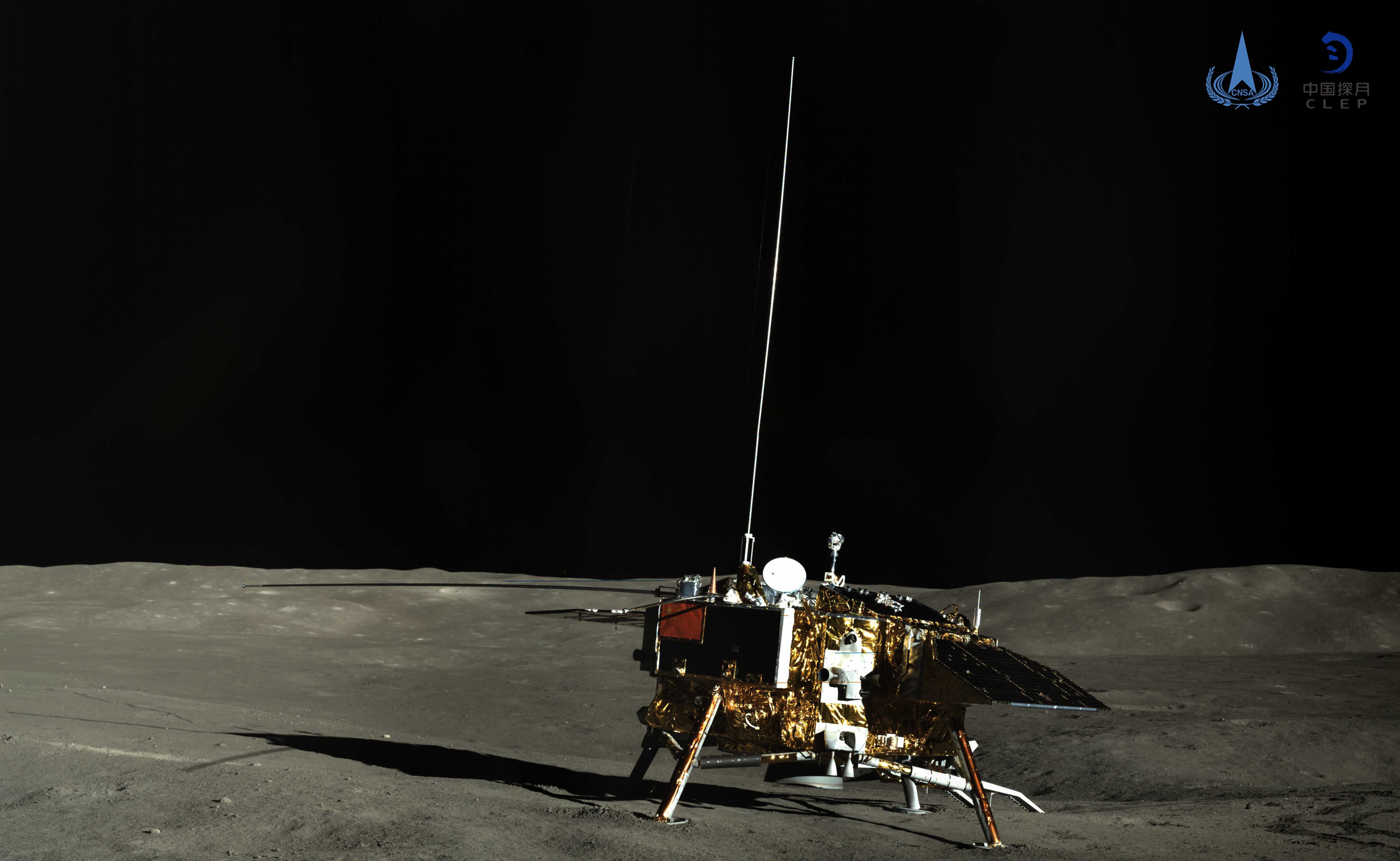 玉兔号月球全景图_探月工程总设计师吴伟仁:明年发射首个火星探测器 | 北晚新视觉