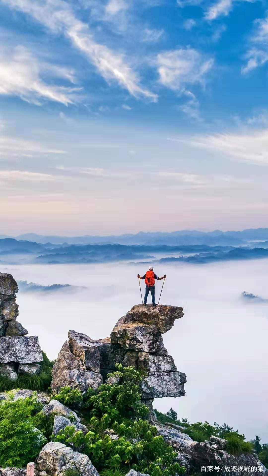 与众不同,大自然煞费心机安排的一处胜景,不一样的风景:黄山