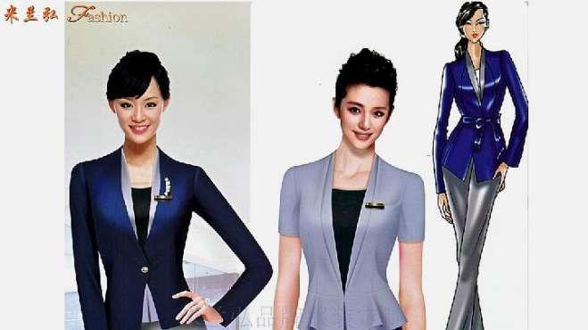 北京品牌夏季职业装 - 俏皮时髦 - 米兰弘服装