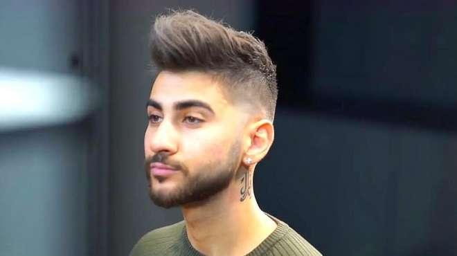 这个男生理发的视频最近火了,剪完头发前后判若两人